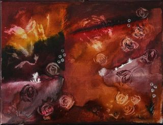 The garden of roses 21 by Rosario de Mattos