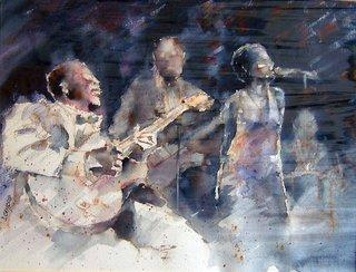 jazz band by Juan Félix Campos