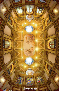 Santa Cruz Tenerife Town Hall (interior dome) by Atman Victor