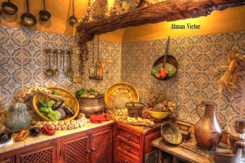 canarian Mansion kitchen by Jose Luis Mendez Fernandez