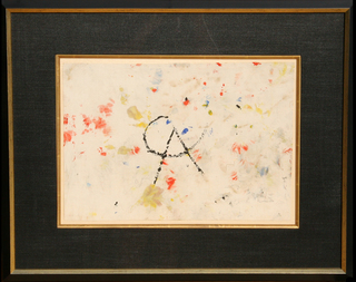 Painted Handkerchief by Alexander Calder