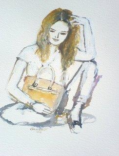 A Bag Makes Me Happy by Joanna Ewa Glazer