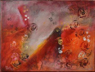 The garden of roses 18 by Rosario de Mattos