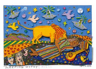 Sleeping Gypsy by James RIZZI