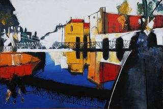 Bankovskiy Bridge by Igor Nelubovich