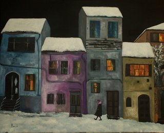Christmas at night by Clara Duch