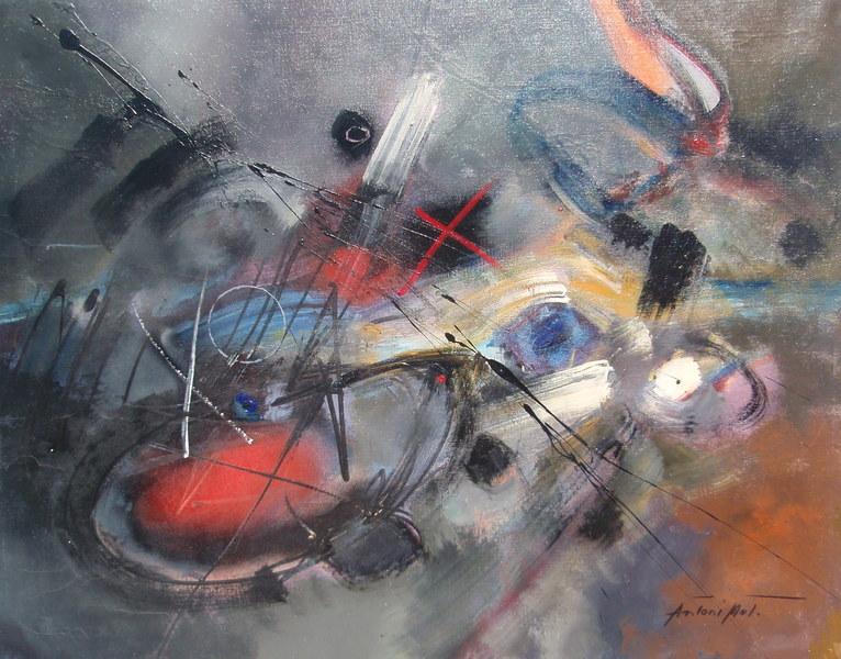 Not For Sale >> Art Hitofumu - Antoni Mut Torroja - informalism 05