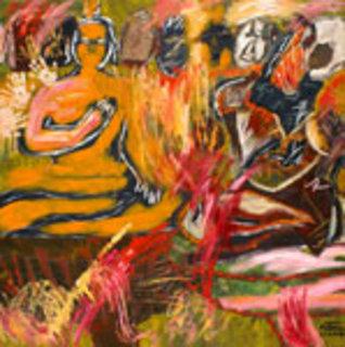 Me and the Buddha (2) by Kritsana Chaikitwattana