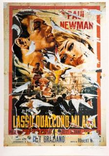 Lassu Qualquno Mi Ama by Mimmo Rotella