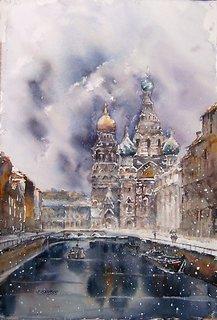 San Petersburg by Juan Félix Campos