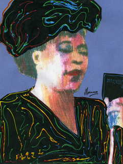 Ella Fitzgerald by Marco Mark