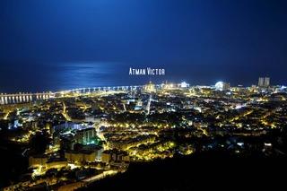 Santa Cruz Tenerife city (night view) 5 by Atman Victor