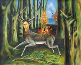 Deer Hunter (after F. Kahlo) by Jirapat Tatsanasomboon