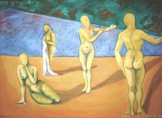 THE BEACH by Raquel Sara Sarangello