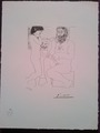 Suite Vollard plancha LXVIII by Pablo Picasso
