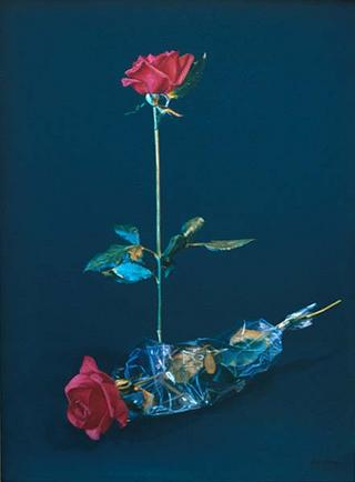Rose with Plastic by José Luis Alvarez Vélez