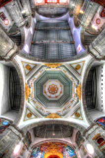 Candelaria church dome by Atman Victor