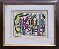 L'Artiste dans le Studio by Fernand Leger