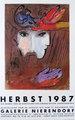 David and Bathseba by after Marc Chagall