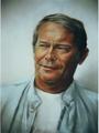 portrait by Leopoldo Fernández
