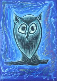 Owl. by Pablo Daza