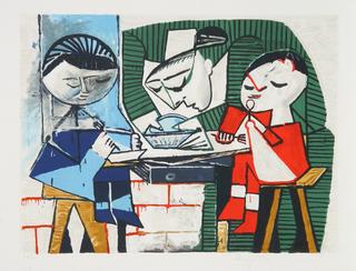Le Repas des Enfants by Picasso Estate Collection