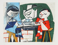 Le Repas des Enfants by Picasso Estate Collection