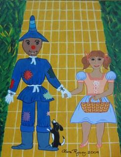 Dorothy y el Espantapájaros by Clara Rodriguez
