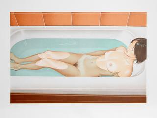 Bonnard's Bath by Mel Ramos