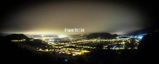 San Cristóbal de La Laguna (night panorama) 2 by Atman Victor