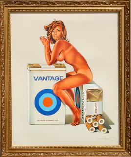 Vantage by Mel Ramos