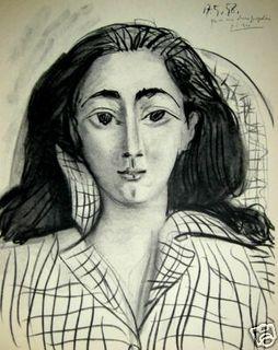 JAQUELINE by Pablo Picasso