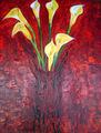 Bouquet jaune by CHRISTIANE WALDRON