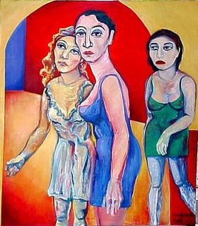 THE WOMANS by Raquel Sara Sarangello