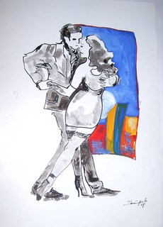 LOVE TANGO by Raquel Sarangello