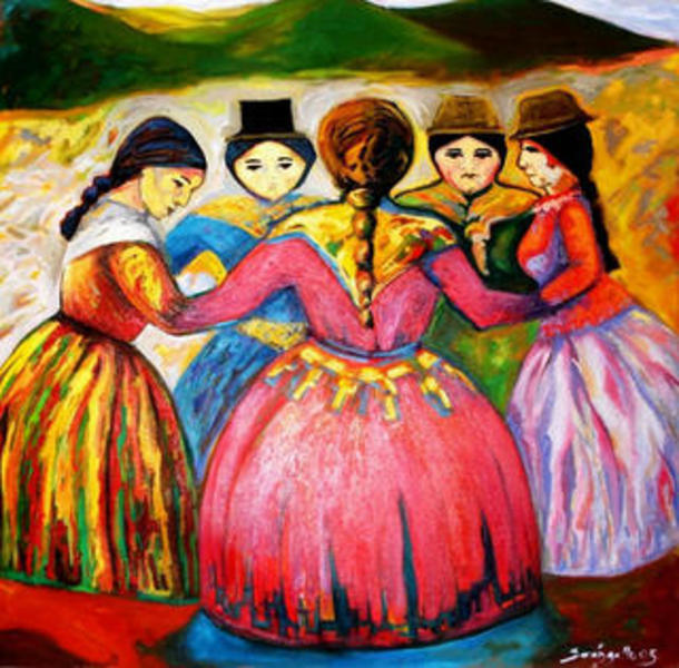 DANCE ANDEAN by Raquel Sara Sarangello