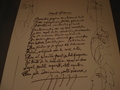 Collectable Picasso Heliogravure of Illustrated Poem by Pablo Picasso