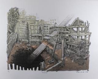 Stairs by Oscar Oiwa