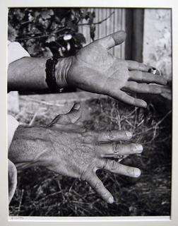 Les Mains (Picasso's hands) by Andre Villers