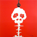 Time Bokan - Red by Takashi Murakami