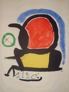 Litografia de Joan MIRÓ by Joan Miró