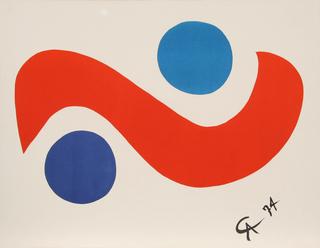 Flying Colors 1 by Alexander Calder