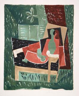Nu aux Bras Levés de Face by Picasso Estate Collection