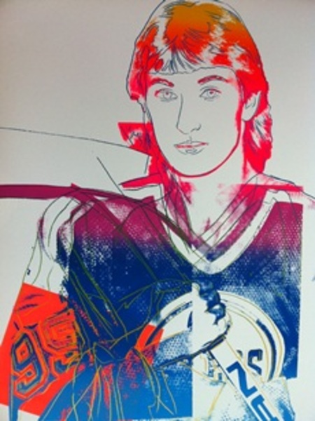 Wayne Gretzky 99 Original Art By Andy Warhol Picassomio