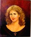 A young woman by Sylva Zalmanson