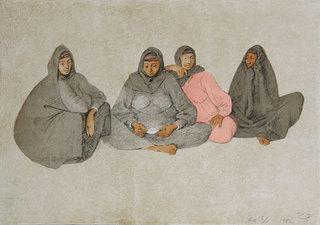 Impresiones de Egipto, Plancha 7 (Impressions of Egypt, Plate 7) by Francisco Zuñiga