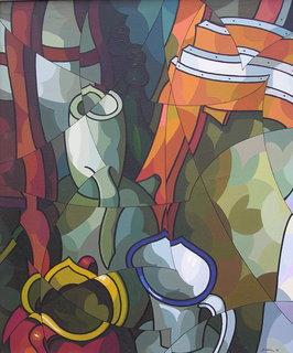 Composicion con vasijas by José Sanz Sala