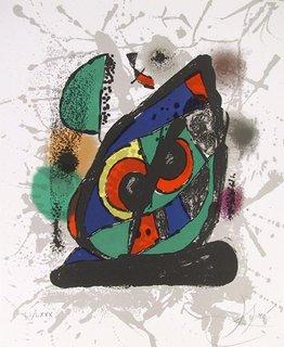 Litograph IV by Joan Miró