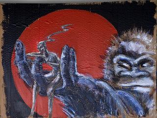 "Kong in Japan by Thierry  ""Deth"" Delsart"