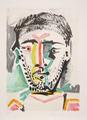 Portrait d' Homme by Picasso Estate Collection